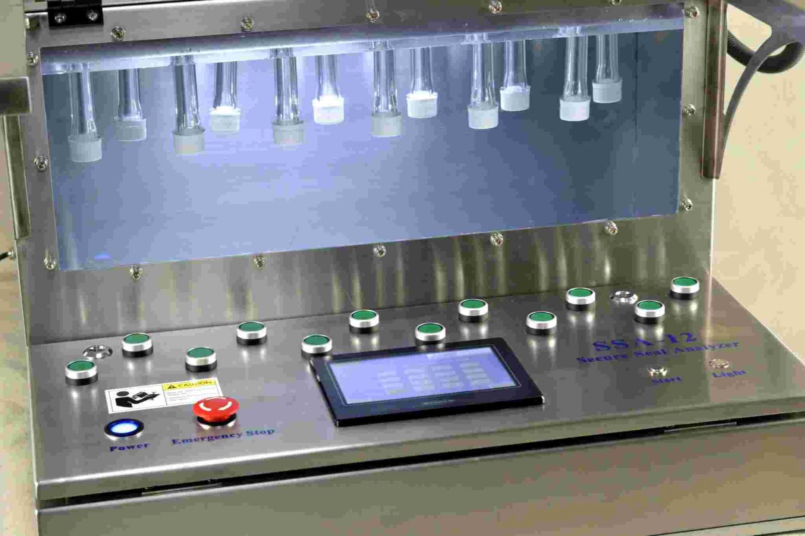 Máy đo độ kín nắp chai nhiều vị trí AT2E
