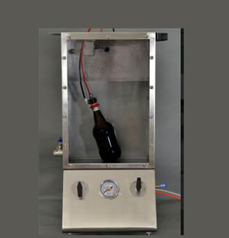 ssa-eco máy đo độ rò rỉ khí nắp chai at2e