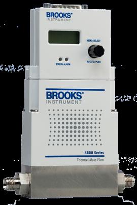 Bộ đo và điều chỉnh lưu lượng khí ga - 4800 Brooks Việt Nam