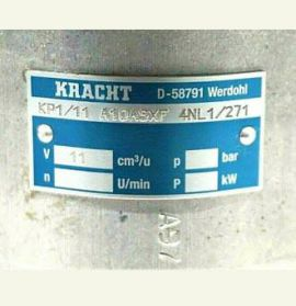 Bơm thủy lực Kracht KP1 5.5 F10