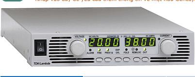 GENH 300-2,5 Power Supply - TDK-Lambda Vietnam