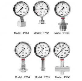 P750, P751, P752, P753, P754, P755, P756 Wise Control- đồng hồ đo áp suất Wise Control