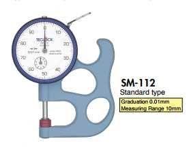 SM-112 Teclock, Đồng hồ đo độ dày Tecklock Việt Nam