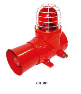 Thiết bị còi báo động có đèn báo hiệu GTL-200 Gastron Việt nam