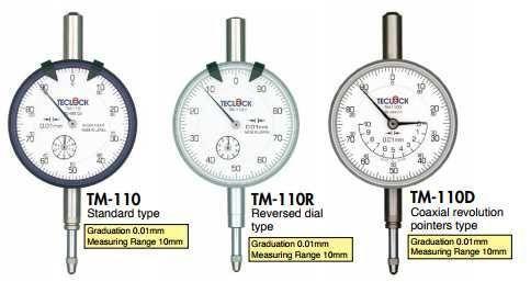 TM-110, TM-110f Teclock, Đồng hồ so Teclock Việt Nam